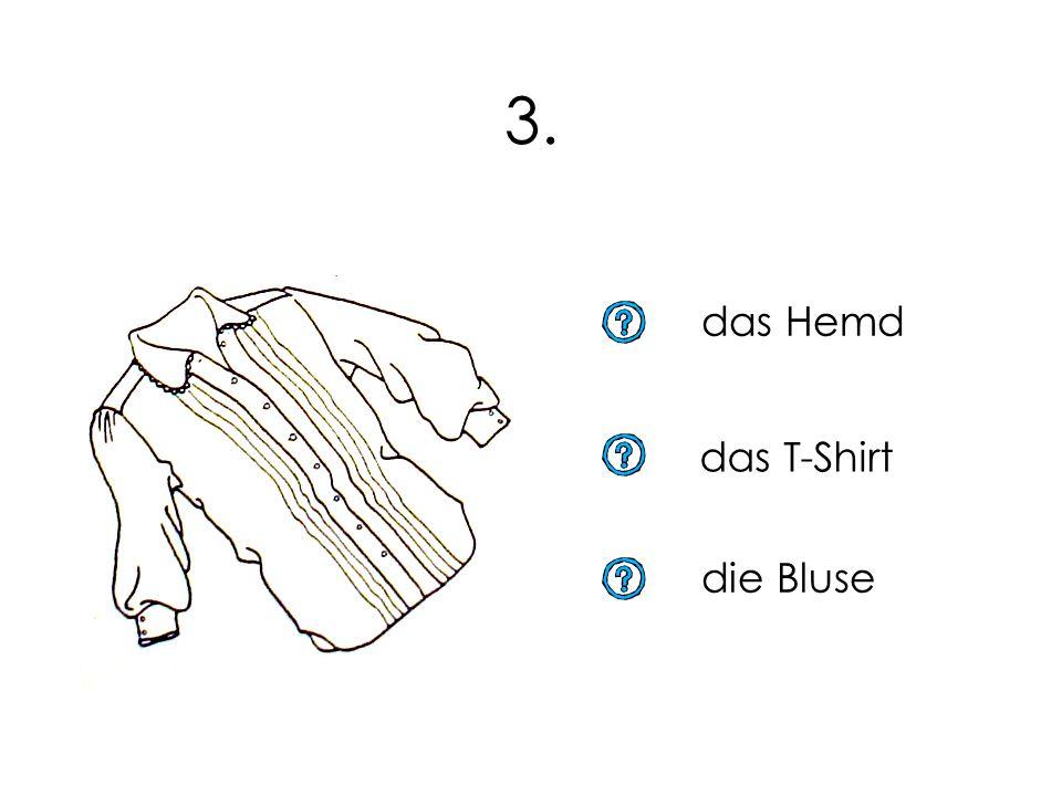 2. der Rock das Badekleid das Kleid