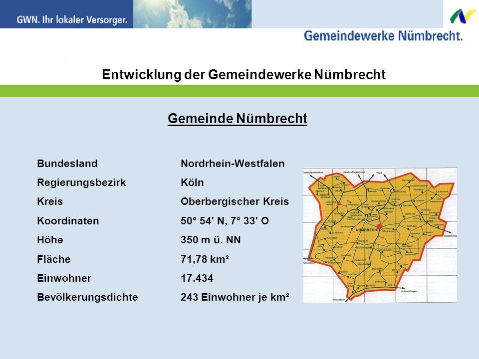 Gemeinde Nümbrecht BundeslandNordrhein-Westfalen RegierungsbezirkKöln KreisOberbergischer Kreis Koordinaten50° 54 N, 7° 33 O Höhe 350 m ü.