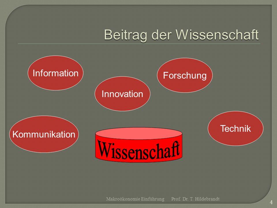 Technik Forschung Innovation Kommunikation Information Prof.