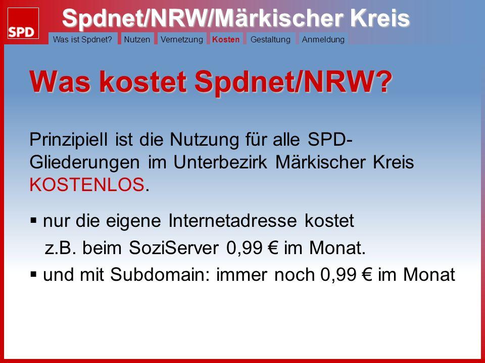 Spdnet/NRW/Märkischer Kreis Was ist Spdnet?NutzenVernetzungKostenGestaltungAnmeldung Wie funktioniert die Vernetzung ? LV Schreibt der Landesverband e
