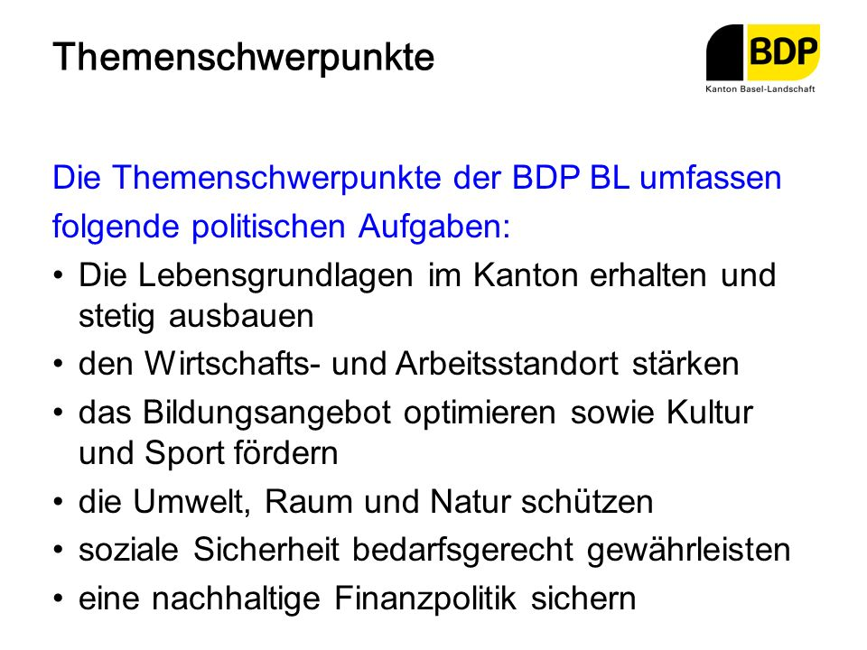 Termine Gründungsversammlung der Kantonalpartei 25.