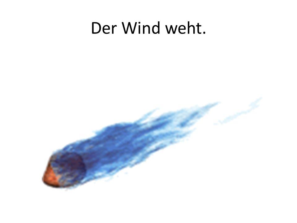 Der Wind weht.