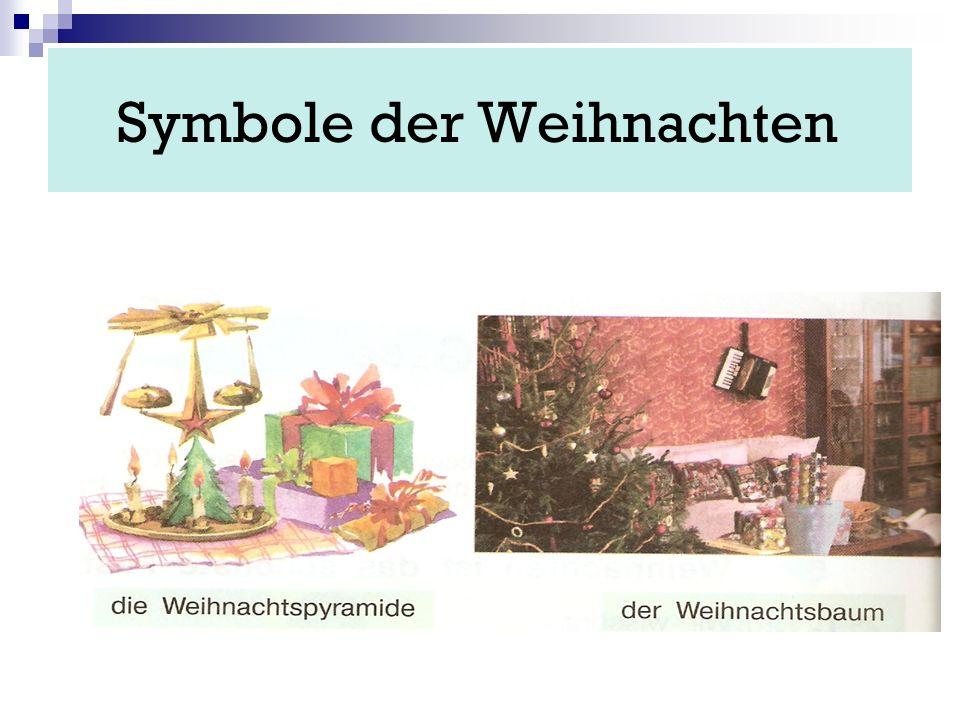 Symbole der Weihnachten