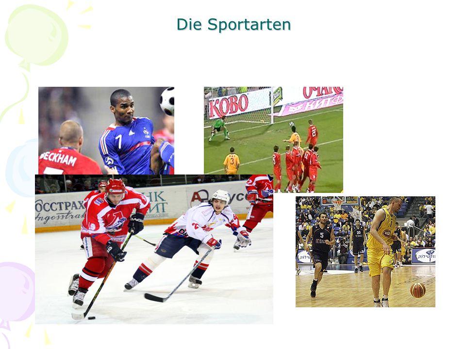 Die Sportarten