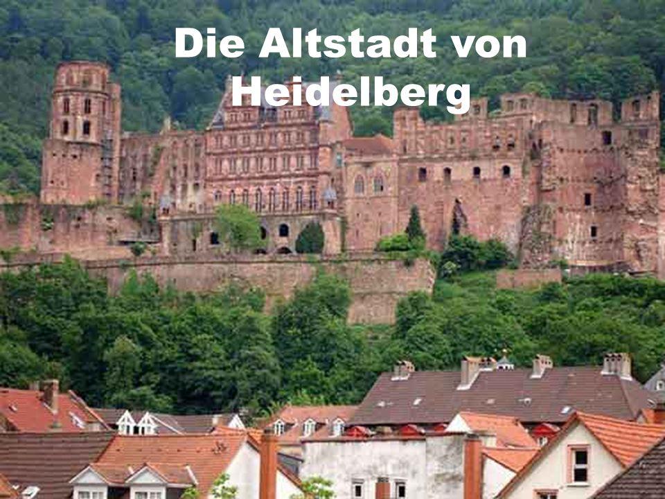 Die Altstadt von Heidelberg