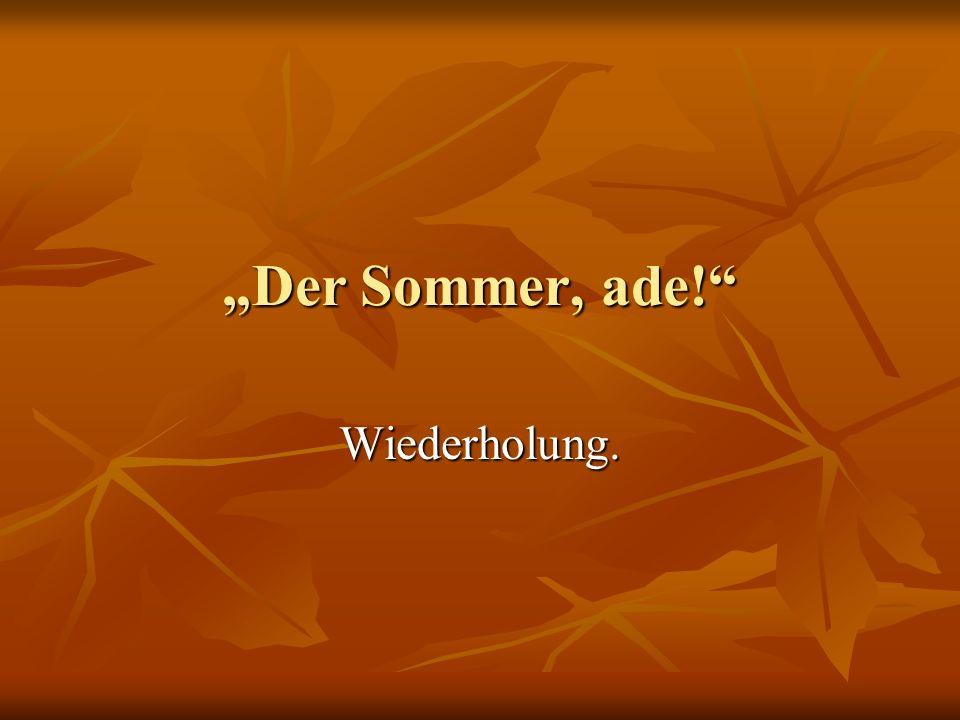 Составьте предложения.1. Heute/unser/ist/Thema/der Winter.
