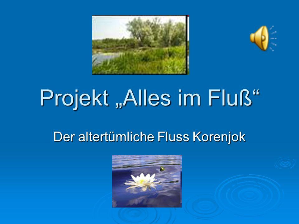 Projekt Alles im Fluß Der altertümliche Fluss Korenjok