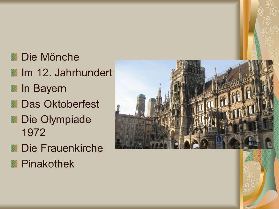 Die Mönche Im 12.