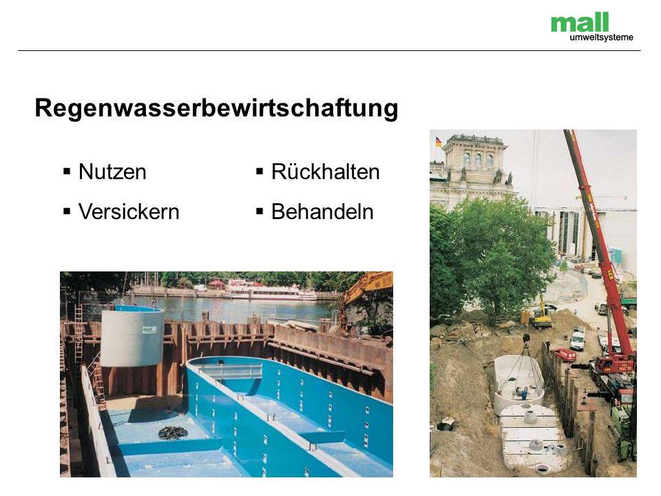 Abscheidetechnik / Nutzwassertechnik Benzinabscheider bis NG 300 Fettabscheider bis NG 30 Waschwasseraufbereitung