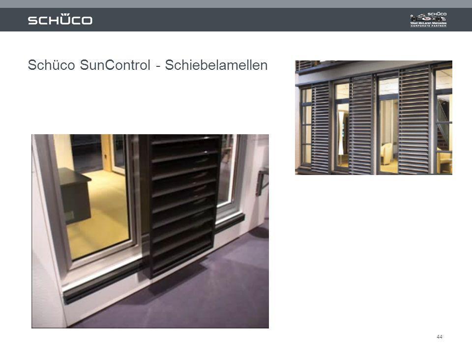 44 Schüco SunControl - Schiebelamellen