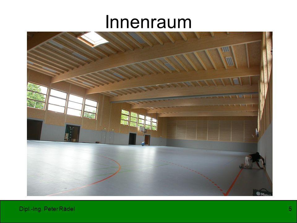 Dipl.-Ing. Peter Rädel5 Innenraum
