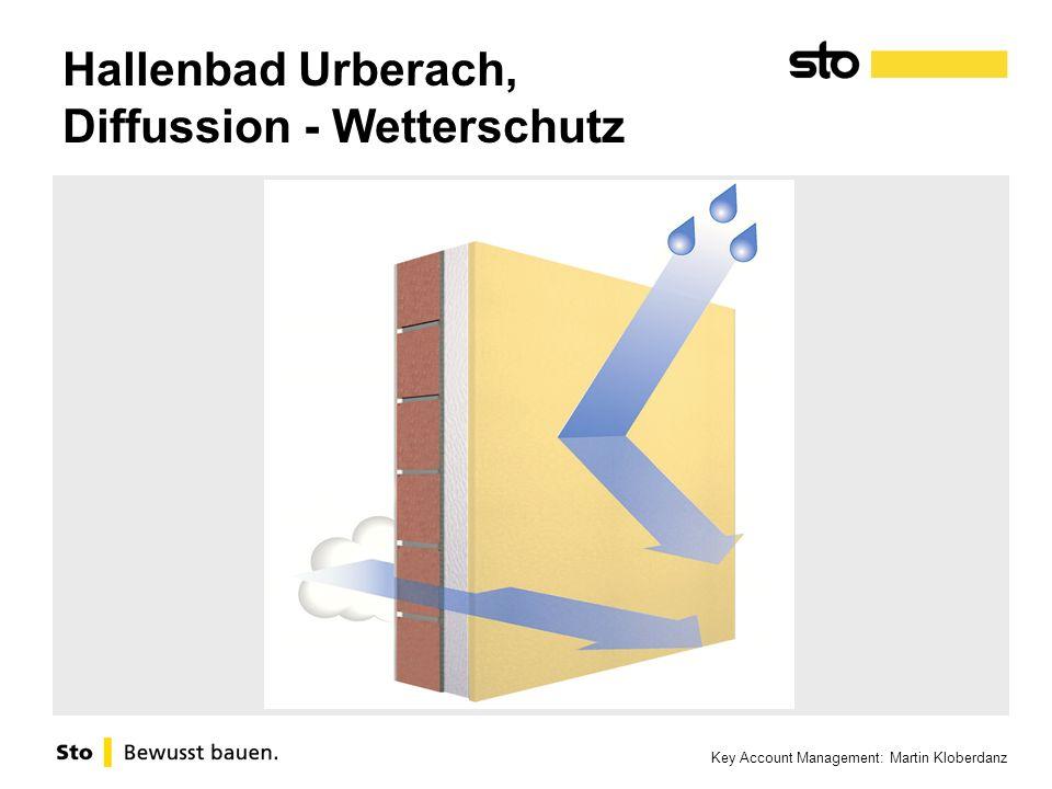 Key Account Management: Martin Kloberdanz Hallenbad Urberach, Diffussion - Wetterschutz