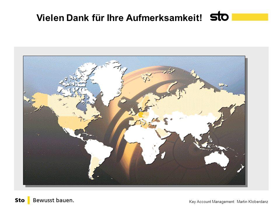 Key Account Management: Martin Kloberdanz Vielen Dank für Ihre Aufmerksamkeit!