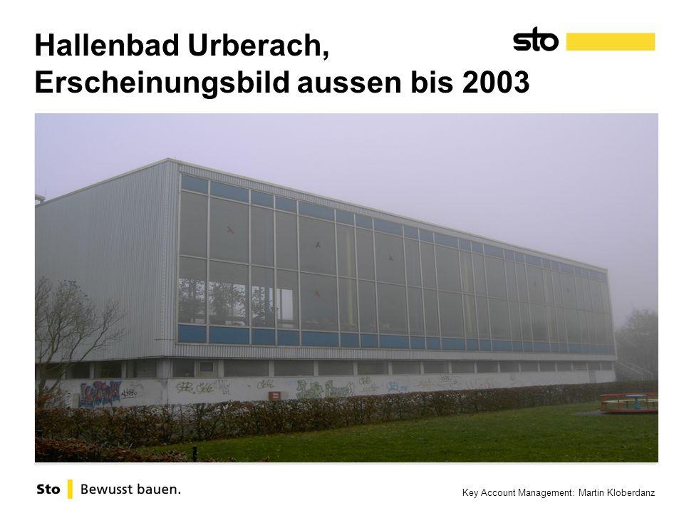 Key Account Management: Martin Kloberdanz Hallenbad Urberach, Erscheinungsbild aussen bis 2003