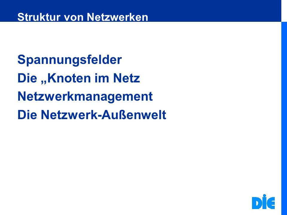 Produkte und Dienstleistungen des Netzwerkes Bildungskooperation in der Region