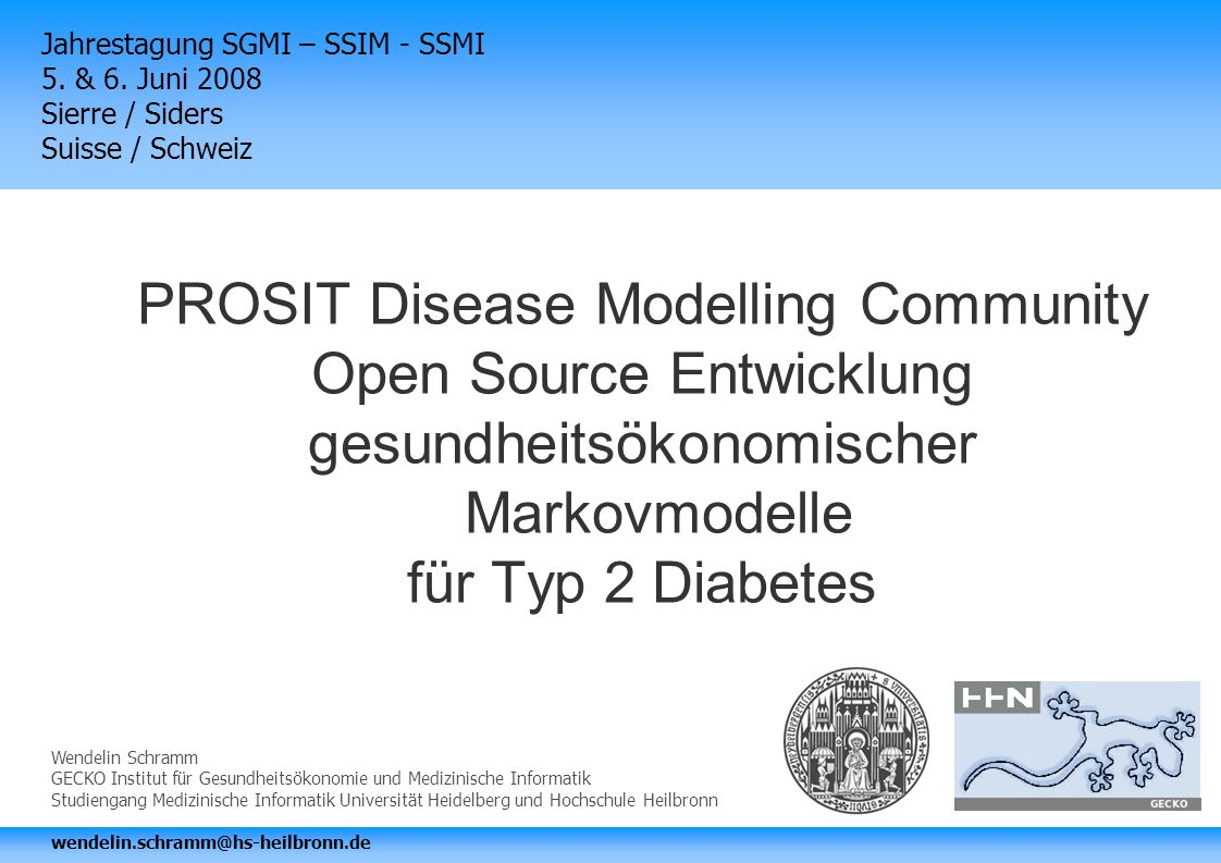 Jahrestagung SGMI – SSIM - SSMI 5. & 6.