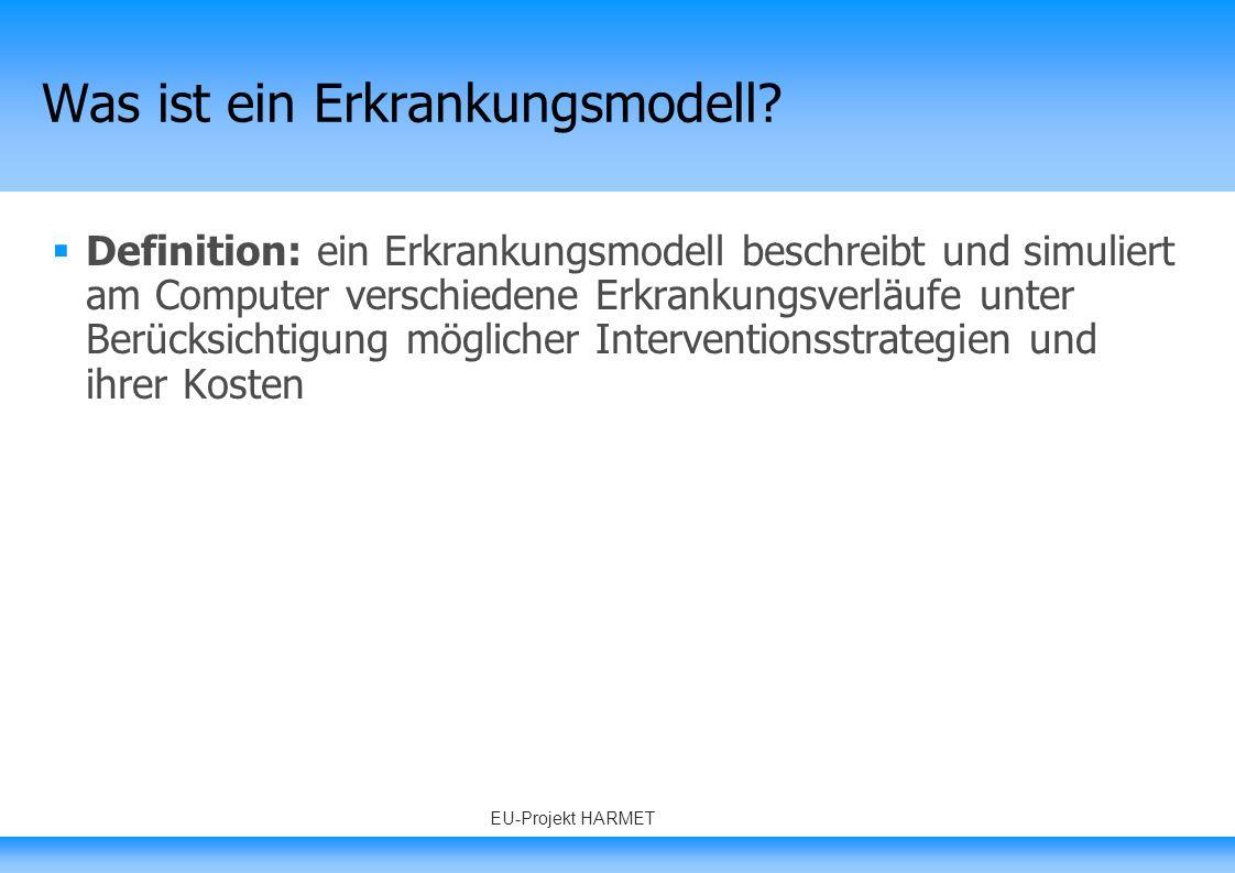 © PROSIT 2008 - www.prosit.de4 Markov Modelle Schramm W, Schoffski O, Gortz A, Liebl A.