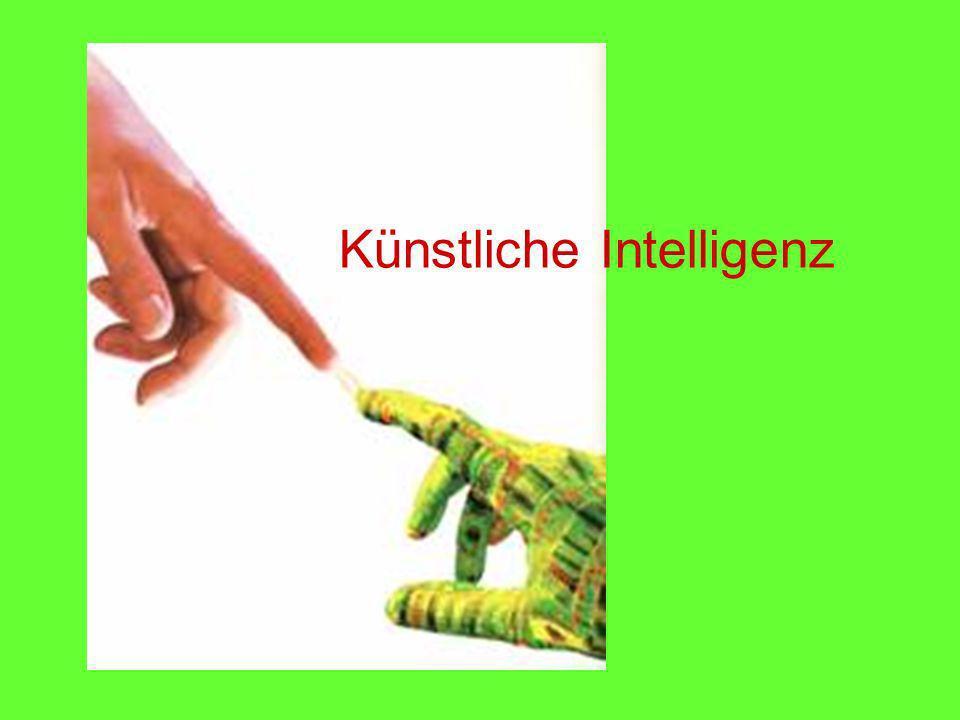 GK Info 13 (Hö)Künstliche Intelligenz Verhaltensweisen Reflektives Verhalten Reflektive Agenten - Können eigene Ziele neu bestimmen.