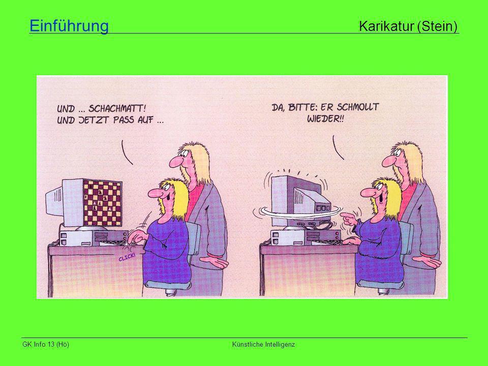 GK Info 13 (Hö)Künstliche Intelligenz Denkende Computer Grenzen der KI