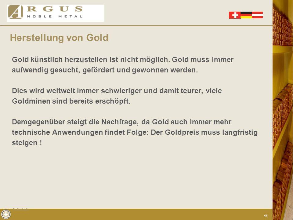 Viel mehr als Gold jedoch findet Silber durch seine vielseitigen Chemischen und physikalischen Eigenschaften als Rohmaterial in der Industrie und auch