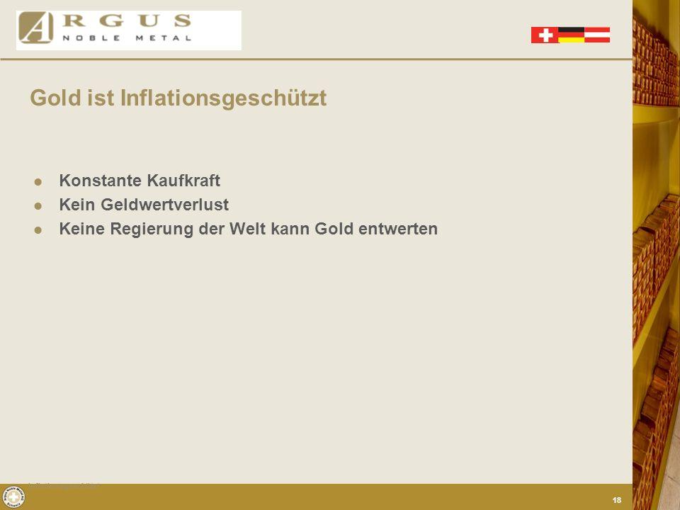 Gold ist eine universelle Währung 24 Stunden am Tag weltweit handelbar Täglich veräußerbar Gold ist echtes Geld Verfügbarkeit- Barauszahlung Liquiditä