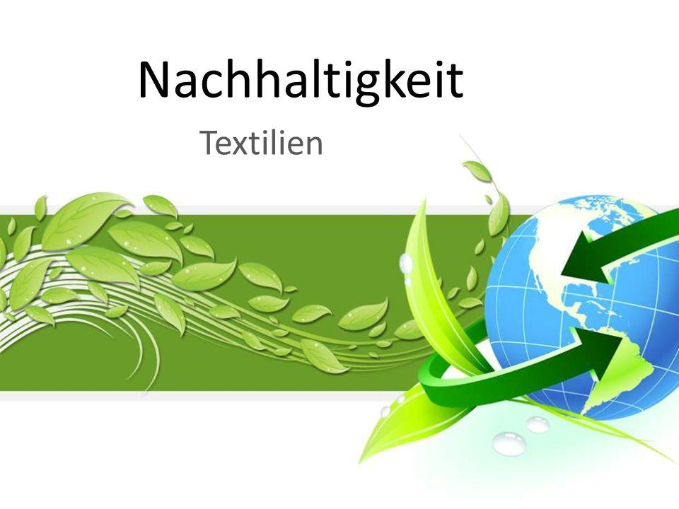 wichtigste Konsumgüterbranche Deutschlands 30 % der Textilproduktion Bekleidung ca.