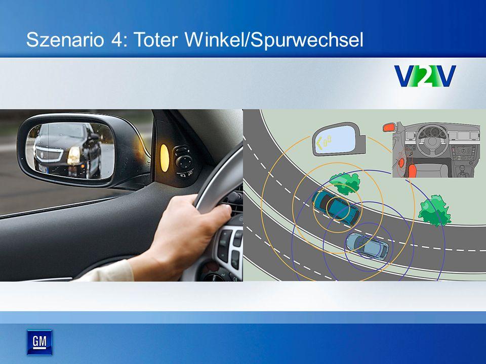 Szenario 4: Toter Winkel/Spurwechsel