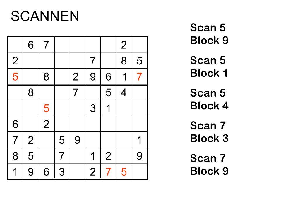672 2785 58296 17 8754 531 62 72591 857129 1963275 Scan 5 Block 9 Scan 5 Block 1 Scan 5 Block 4 Scan 7 Block 3 Scan 7 Block 9 SCANNEN