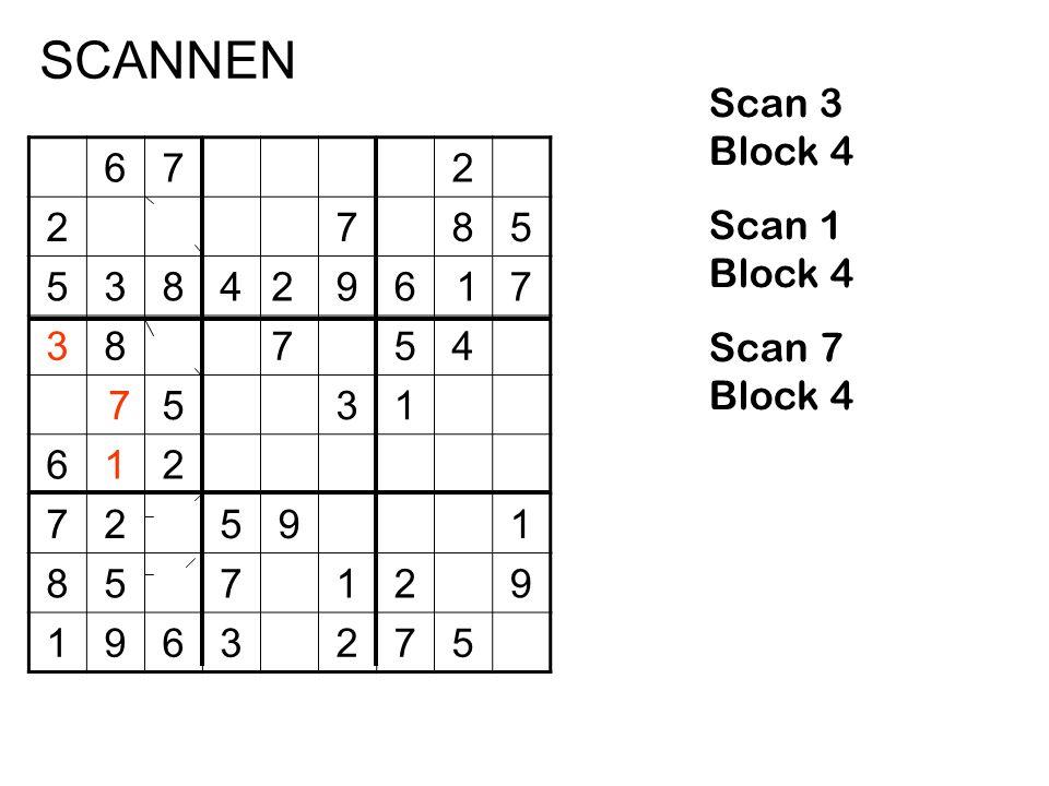 672 2785 5384296 17 38754 7531 612 72591 857129 1963275 Scan 3 Block 4 Scan 1 Block 4 Scan 7 Block 4 SCANNEN