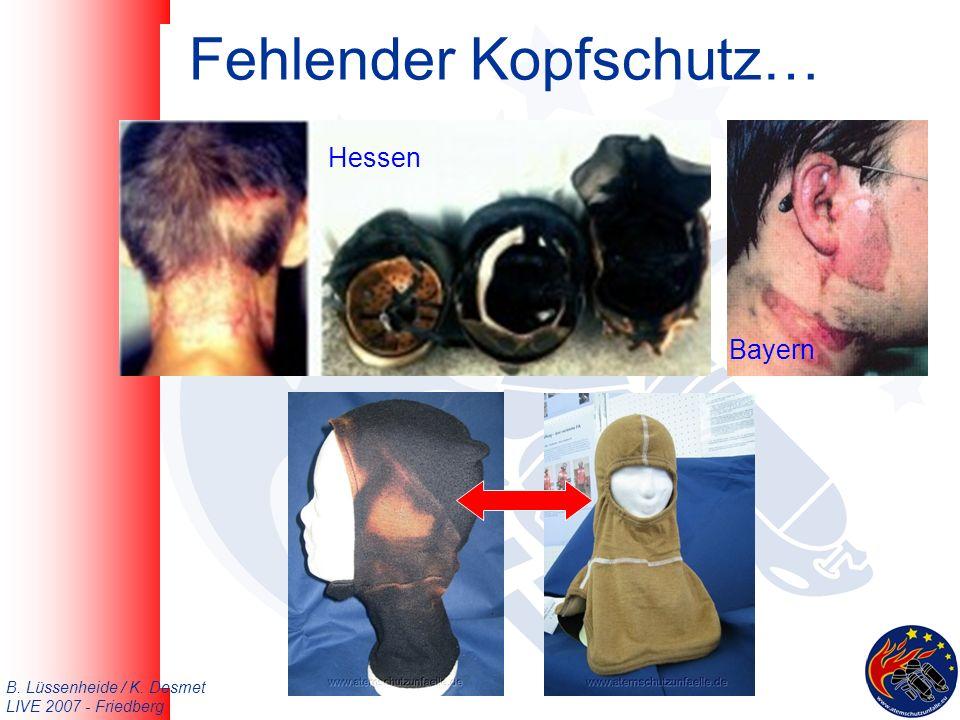 B. Lüssenheide / K. Desmet LIVE 2007 - Friedberg Fehlender Kopfschutz… Hessen Bayern
