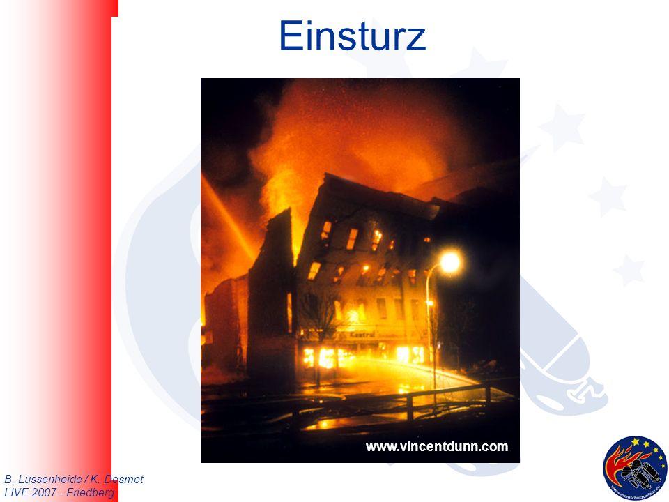 B. Lüssenheide / K. Desmet LIVE 2007 - Friedberg Einsturz www.vincentdunn.com