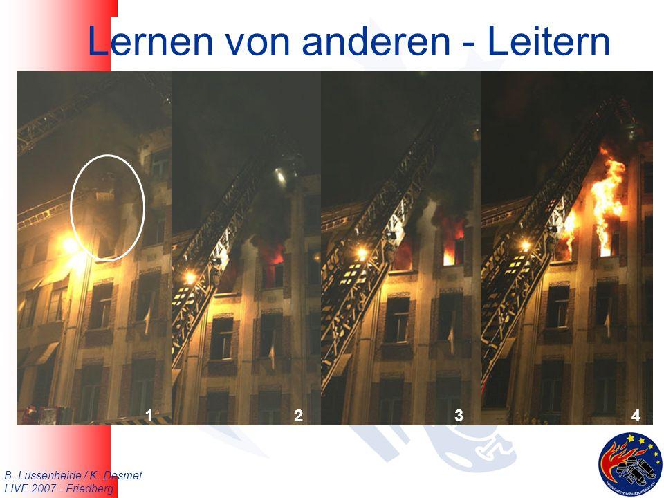 B. Lüssenheide / K. Desmet LIVE 2007 - Friedberg Lernen von anderen - Leitern 1234
