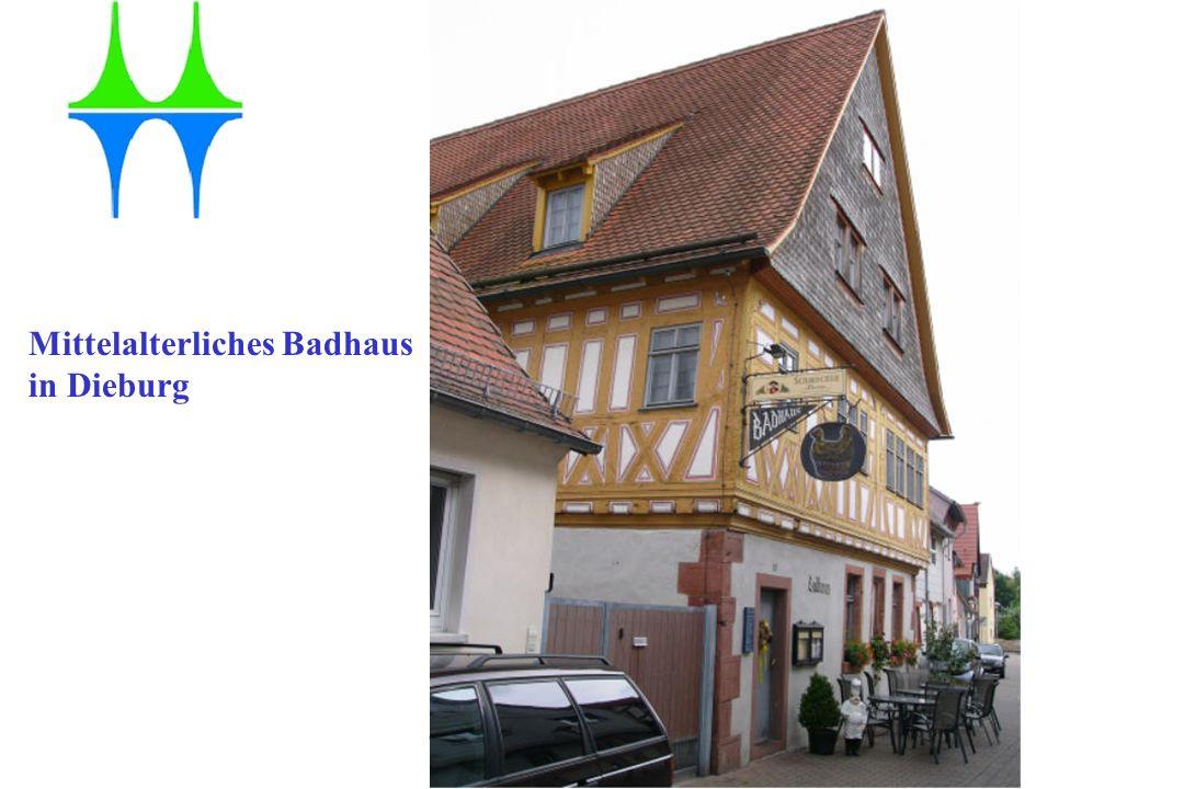 Gesundheitsamt der Stadt Mülheim an der Ruhr Szene aus einem Badehaus, 15. Jahrhundert