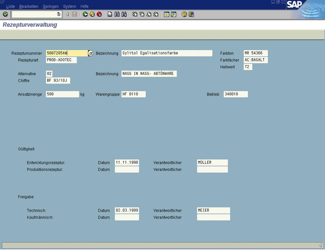 Seite 615.02.01Thomas MickleyZentrale Rezepturdatenbank und Verwaltung jw