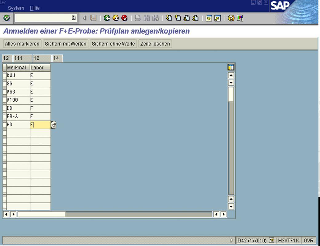 Seite 1415.02.01Dr. Karin KnippingIntegriertes SAP R/3 LIMS jw