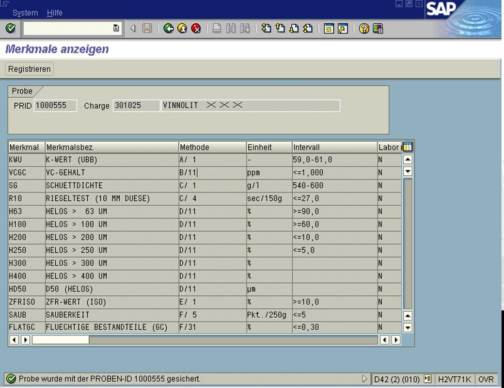 Seite 715.02.01Dr. Karin KnippingIntegriertes SAP R/3 LIMS jw