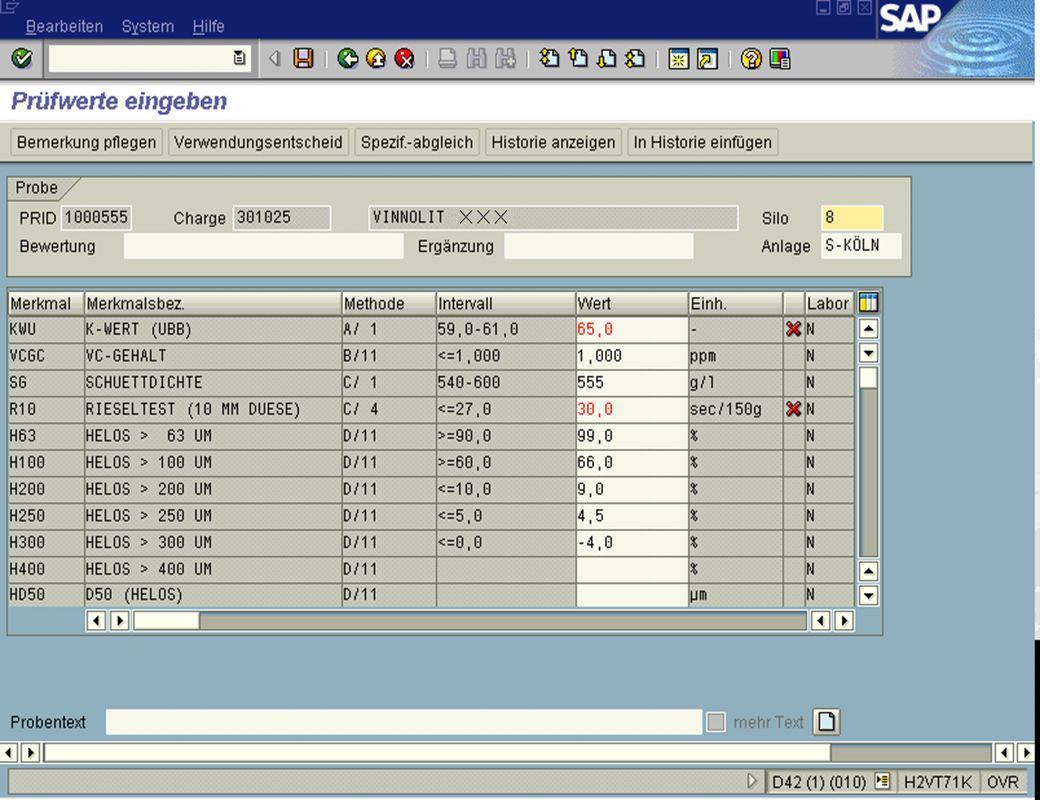 Seite 915.02.01Dr. Karin KnippingIntegriertes SAP R/3 LIMS jw