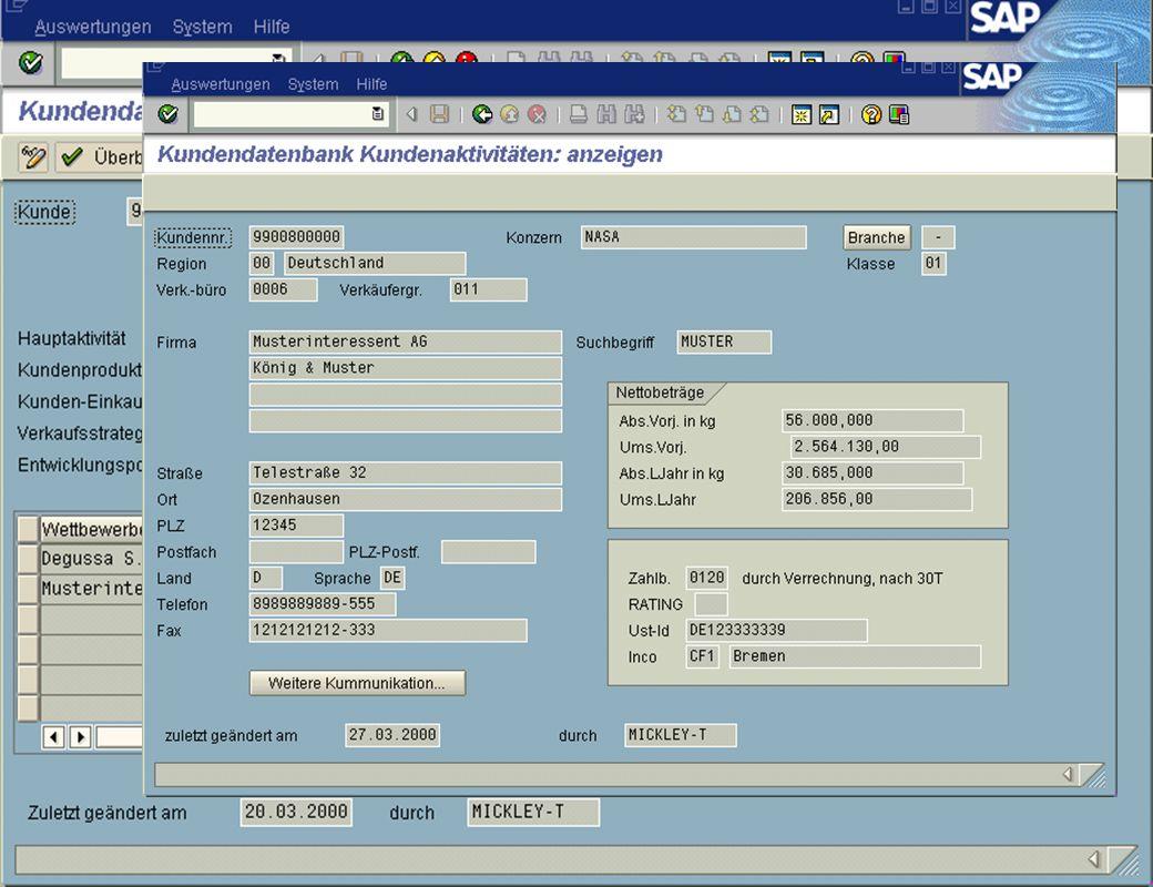 Seite 15DatumThomas MickleyKundeninformationsdatenbank jw Aktivitäten Detailansicht