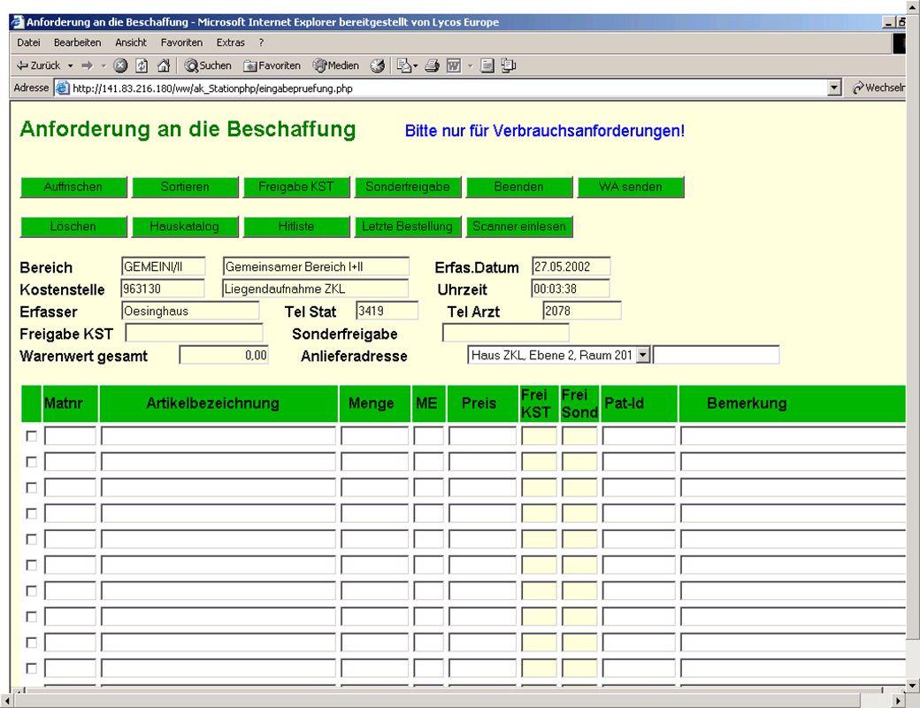 Seite 16 Dr. J. Winkler http://www.jwconsulting.de/workshop/2003/030614jw.ppt jw