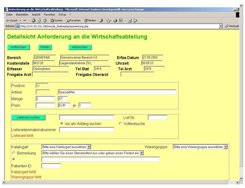 Seite 21 Dr. J. Winkler http://www.jwconsulting.de/workshop/2003/030614jw.ppt jw Inhalt