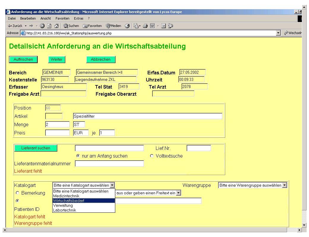 Seite 22 Dr. J. Winkler http://www.jwconsulting.de/workshop/2003/030614jw.ppt jw Inhalt