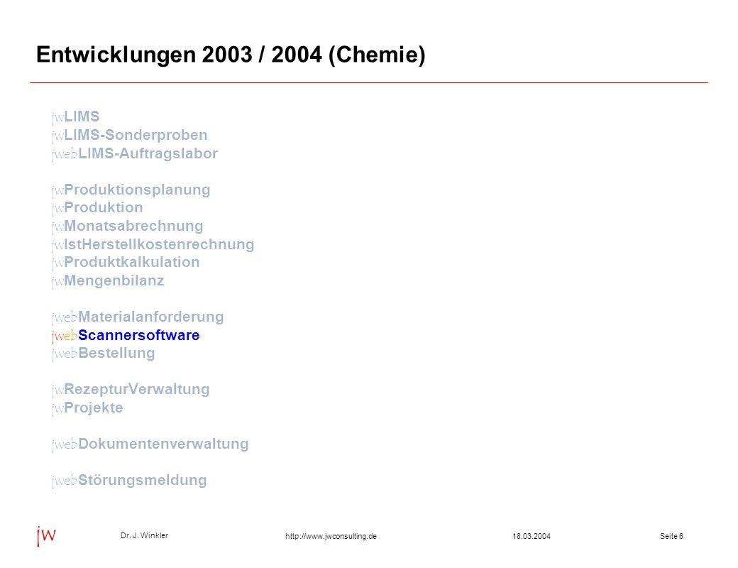 Seite 1718.03.2004 Dr.J.