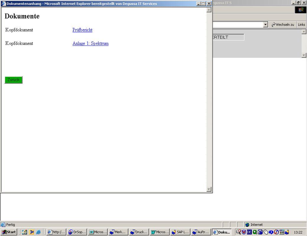 Seite 2510.Mai 2004Thomas MickleyDokumentenmanagement jw Dokumentenverwaltung am Beispiel eLab