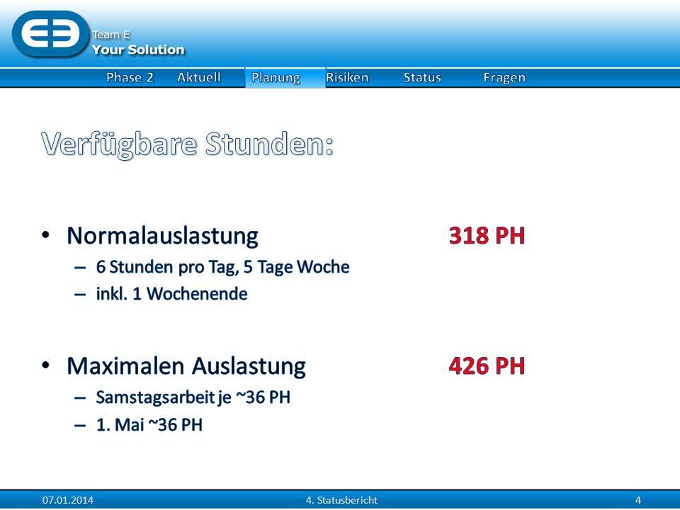 07.01.20144. Statusbericht5