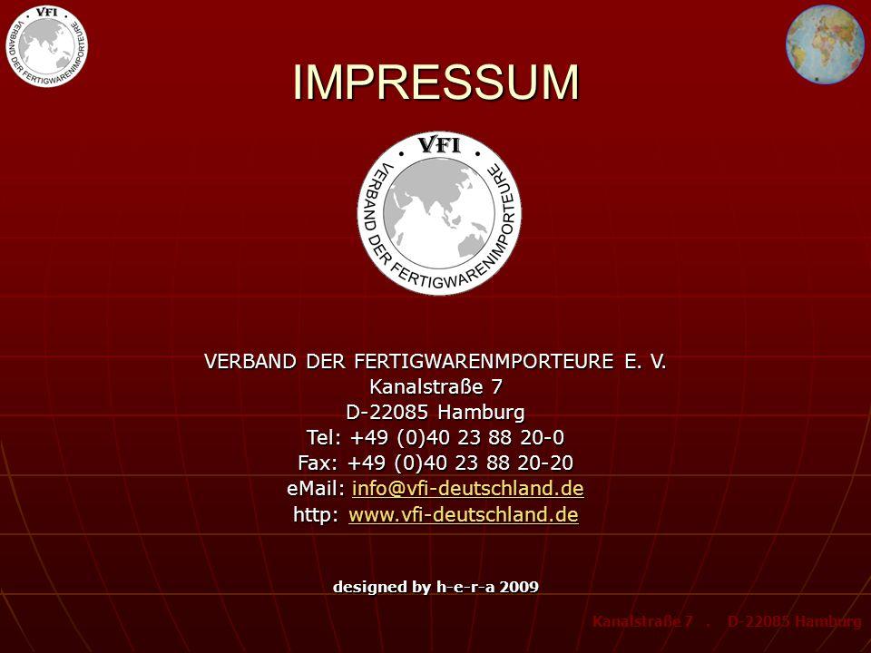 VFI – MITGLIED BEI VERE Verband zur Rücknahme und Verwertung von Elektro- und Elektronikaltgeräten e. V. = Zusammenschluss von Herstellern und Importe