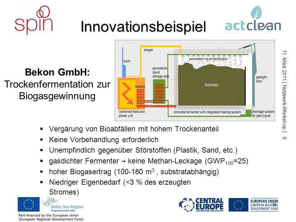 11. März 2011 | Netzwerk-Workshop | 8 8 Wozu noch eine Datenbank? Albert Einstein Lang ist der Weg durch Lehren, kurz und erfolgreich durch Beispiele.