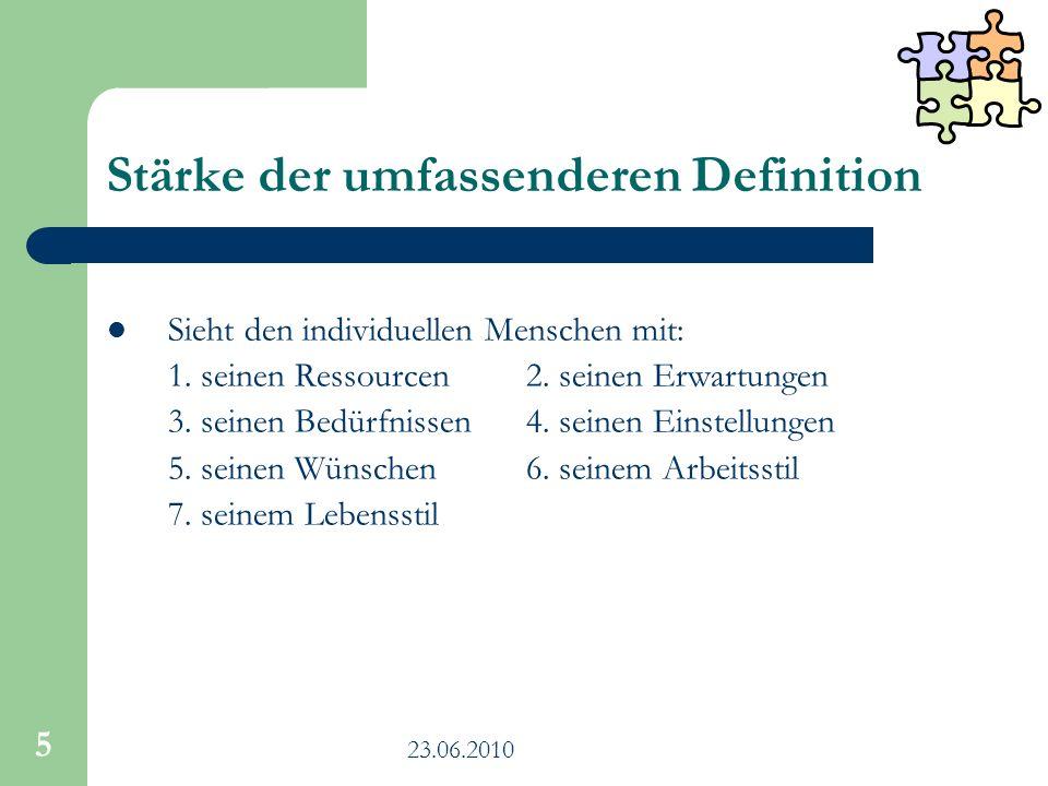 23.06.2010 16 Vorteilhafte Ausgangsbedingungen für DM in Heilbronn verhältnismäßig klein unter den größeren Städten: organisatorisch und strukturell einfacher zu bewerkstelligen Erfolge im Gender- und Integrationsbereich als wichtige Diversity-Zugpferde Daten erfasst: z.B.