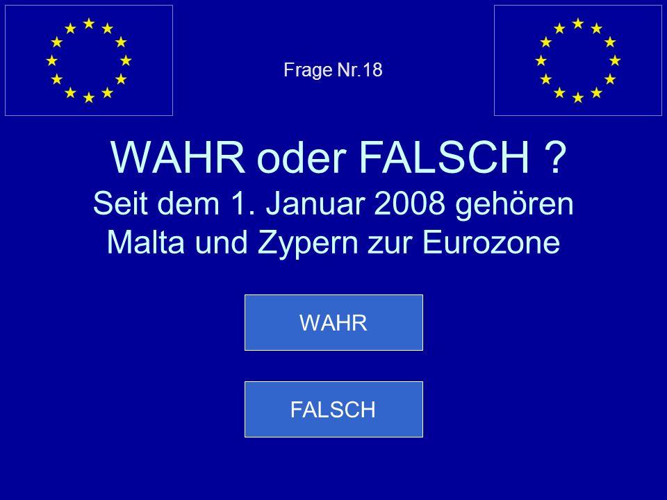 Falsche Antwort… Spanien ist im gleichen Jahr wie Portugal EU Mitglied geworden Nächste Frage