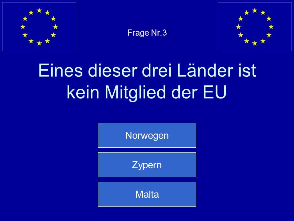 Falsche Antwort… Am 1. Mai 2004 sind zehn neue Länder der EU beigetreten Nächste Frage