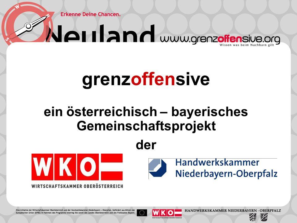 grenzoffensive ein österreichisch – bayerisches Gemeinschaftsprojekt der